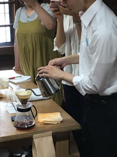 アイスコーヒー教室お手伝い①イメージ1