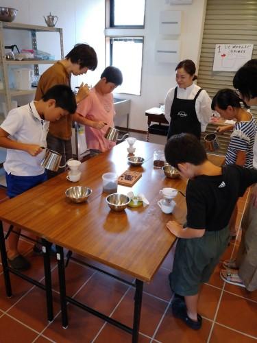 子どもハンドドリップ教室 追加講座イメージ1