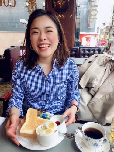 東京カフェ巡り  ギャランイメージ2