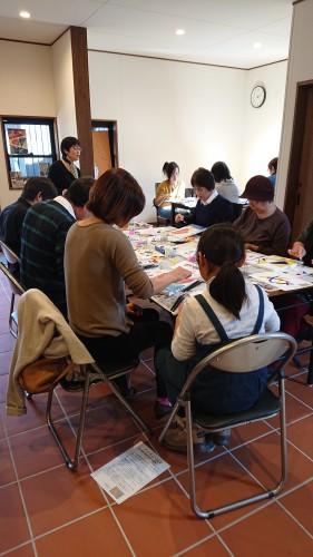 油彩画体験教室イメージ1