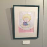 色鉛筆・水彩画イラスト 原画と紙雑貨の展示販売イメージ1