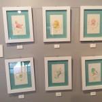 色鉛筆・水彩画イラスト 原画と紙雑貨の展示販売イメージ3