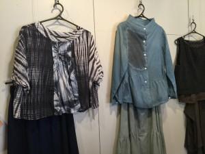 中根由美子 オリジナル洋服展イメージ