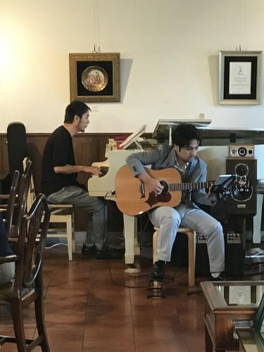 ピアノ&ギター生演奏イメージ1