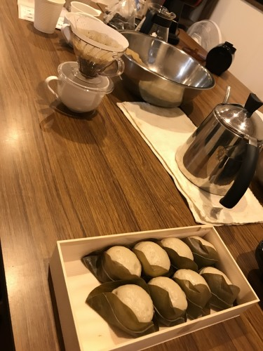 ブレンドコーヒー作り、抽出手引きイメージ1