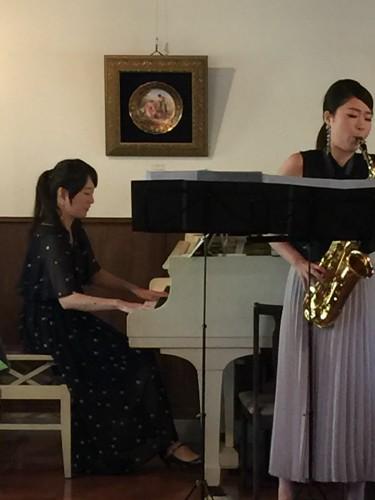清さんのピアノ&中島さんのサックスイメージ2