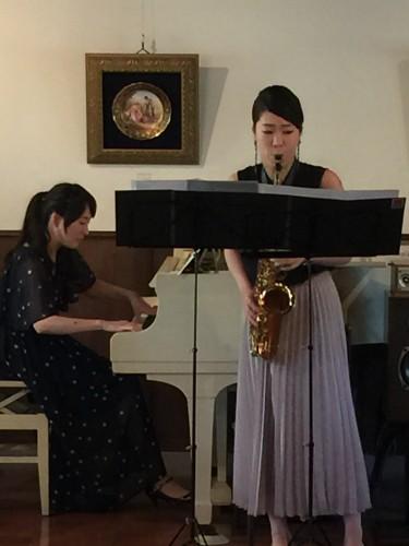 清さんのピアノ&中島さんのサックスイメージ3
