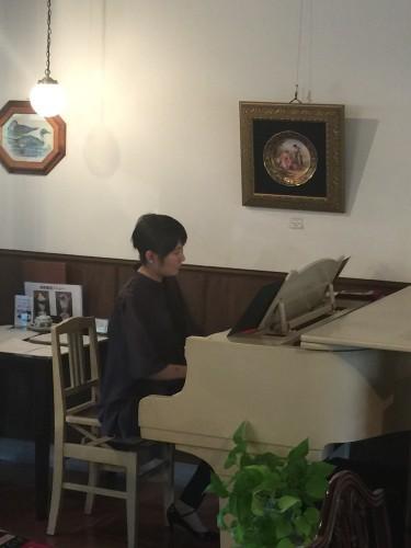 ピアノ生演奏&彫刻展最終日イメージ1