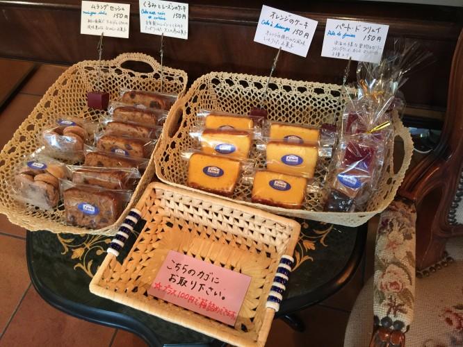 焼き菓子コーナーイメージ1