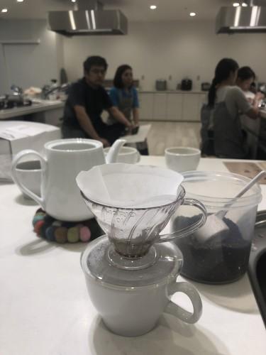 コーヒー教室 in マーゴクッキングスタジオ 終了!イメージ1