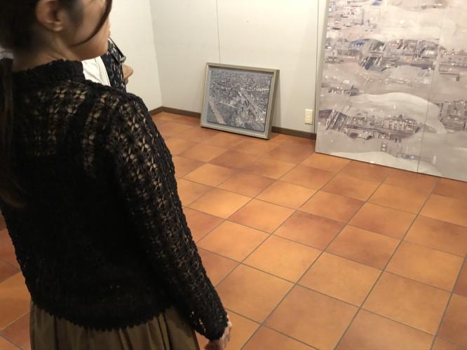 伊東春香日本画展  搬入中です!イメージ1