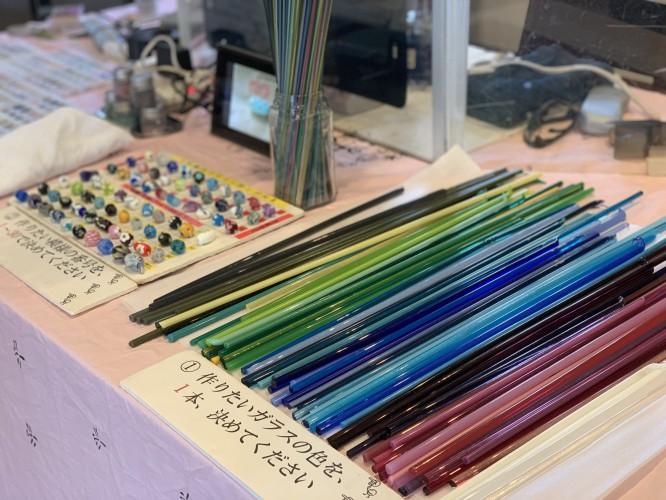 とんぼ玉ギャラリー開催中イメージ1