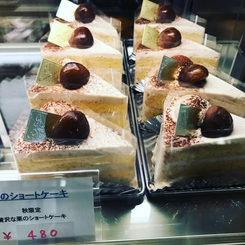 栗のショートケーキイメージ1