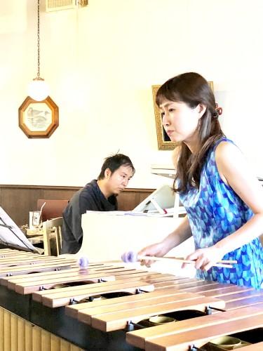 ピアノとマリンバの演奏イメージ1