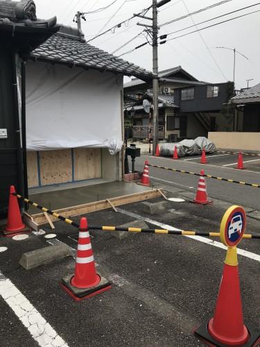 店舗東側工事イメージ1