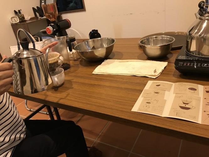 ブレンドコーヒー作り、抽出手引きイメージ3