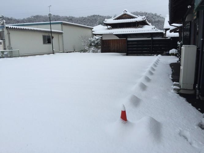 初雪。イメージ1
