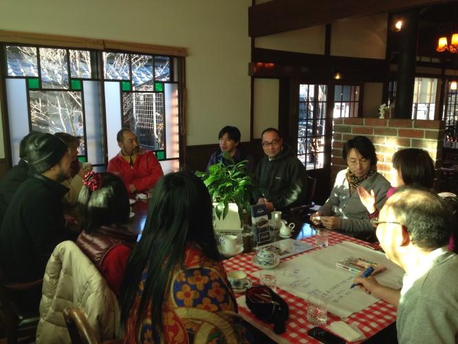 1月29日、アダチ店内にて関市イドバタカフェが開催されました。イメージ1