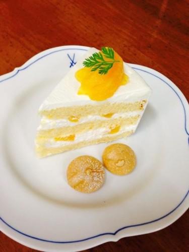 オレンジのショートケーキイメージ1
